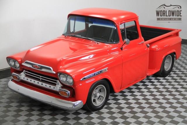 1958 Chevrolet Apache Stepside ?19000 | Autos | Pinterest ...
