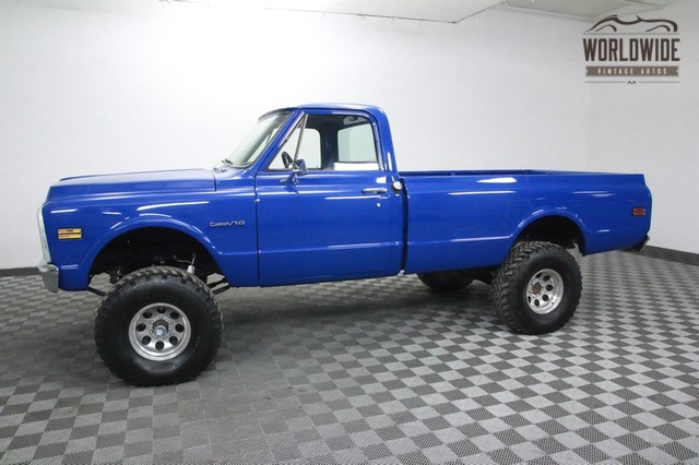1972 Chevy C10 For Sale