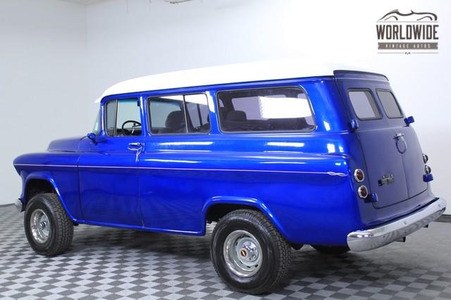 1955 Chevy Suburban Napco for Sale