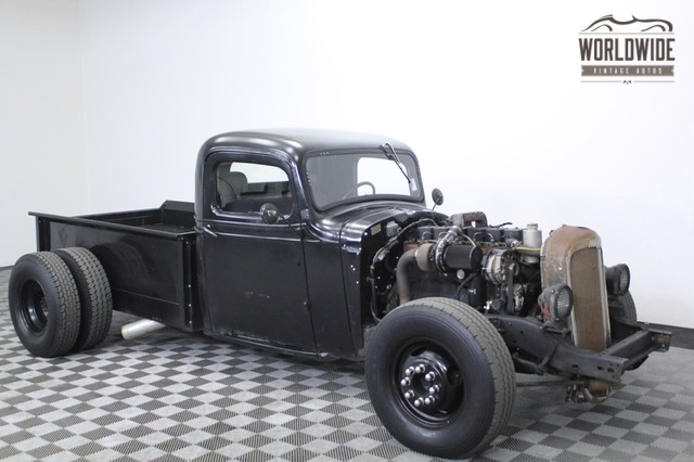 1936 chevy ratrod truck cummins diesel for sale. Black Bedroom Furniture Sets. Home Design Ideas
