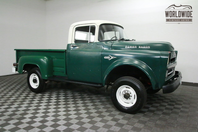 1957 dodge power wagon for sale. Black Bedroom Furniture Sets. Home Design Ideas