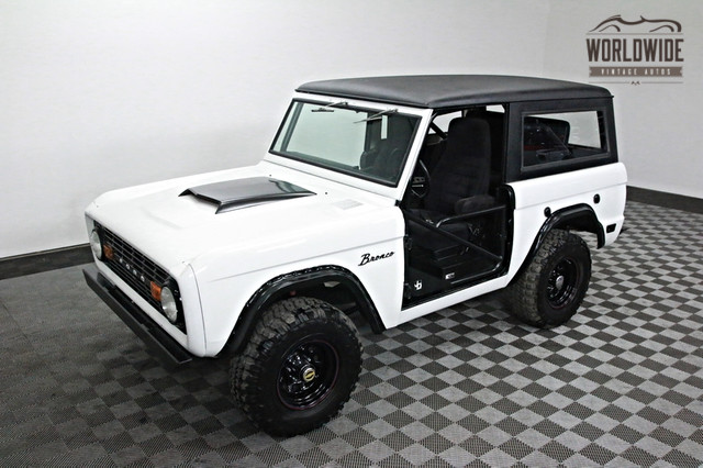 1968 Ford Bronco High End Build 302 V8 4x4 P S Soft