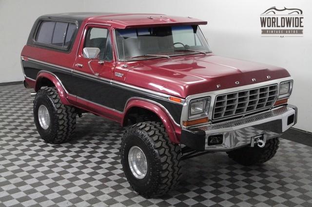 Original 1978 Bronco Suspension Autos Post