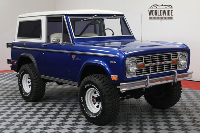 1969 Ford Bronco Restored Ps Pb Rare Worldwide