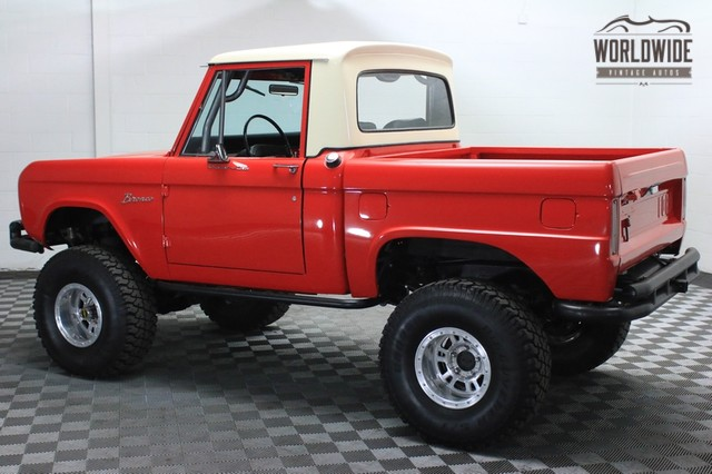 Bronco Ford 1966 Vin U15fl777151 Worldwide