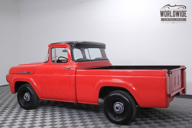 Large on 1960 Ford F100 Pickup Truck