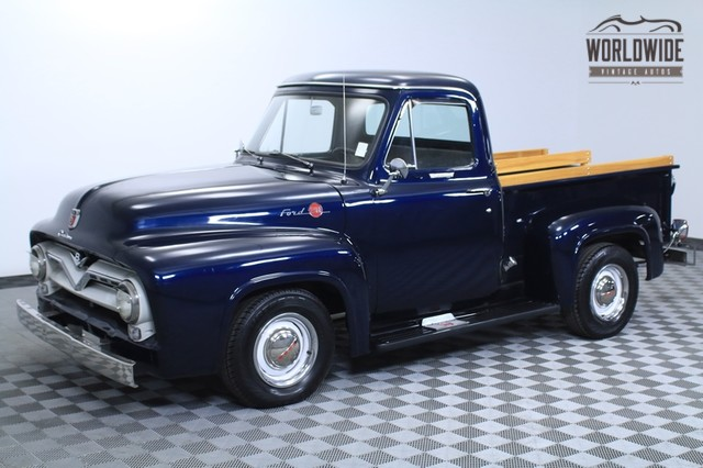 F100 Pickup Truck Ford 1955 Vin F10v5820008 Worldwide Vintage Autos