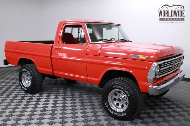 1967 Ford F100 351 Windsor Restored Rare for Sale