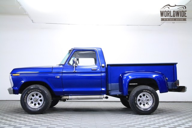 1976 Ford F100 4x4 Shortbed For Sale