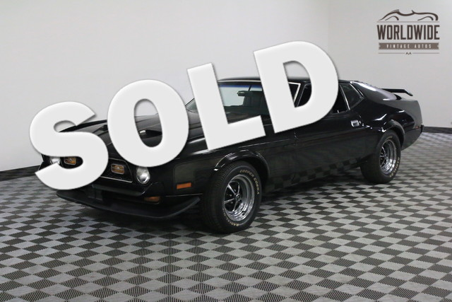 Mustang Ford 1971 Vin Ctp1541mustang Worldwide