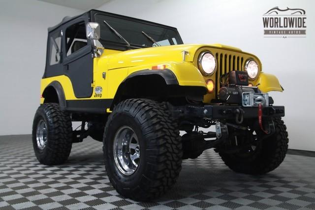 CJ5 | Jeep | 1976 | VIN # j6f83eh002660 | Worldwide Vintage