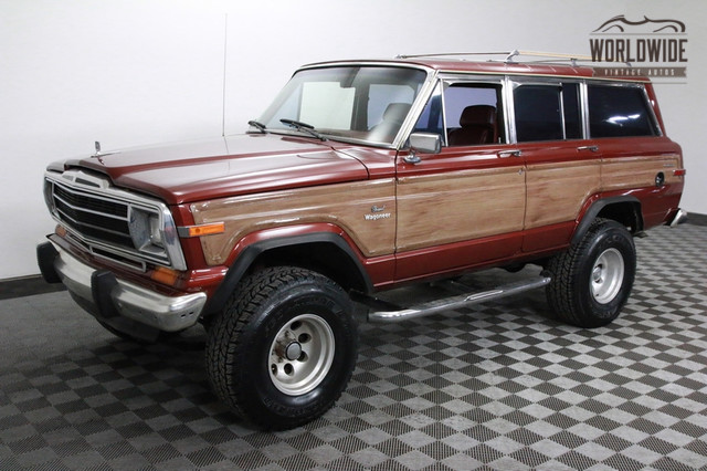 Jeep Grand Wagoneer For Sale >> 1986 Jeep Grand Wagoneer For Sale