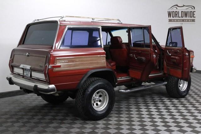 1986 jeep grand wagoneer for sale. Black Bedroom Furniture Sets. Home Design Ideas