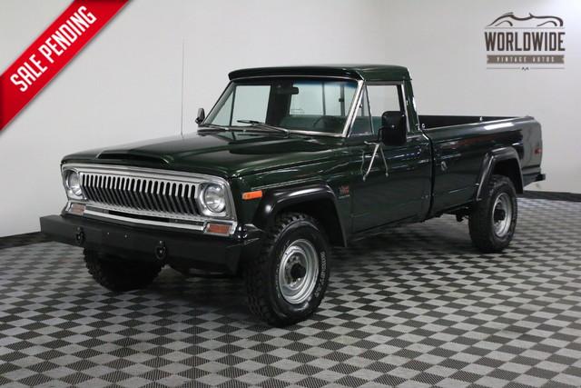 j20 jeep 1974 vin j4a462zn96164 worldwide vintage autos. Black Bedroom Furniture Sets. Home Design Ideas