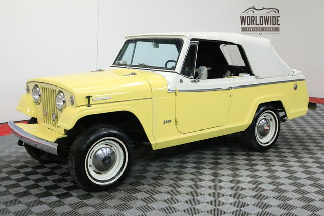 Jeepster Jeep 1967 Vin 870101712205 Worldwide