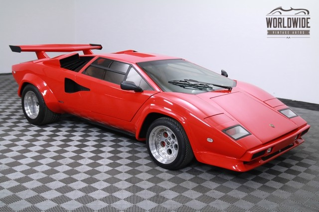 1984 Lamborghini Countach 400hp V8 For Sale
