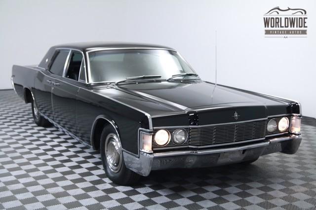 1968 Lincoln Continental Restored Triple Black! A/C ...
