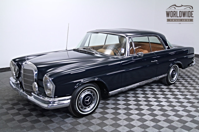 1966 mercedes 250 se sports coupe for sale. Black Bedroom Furniture Sets. Home Design Ideas