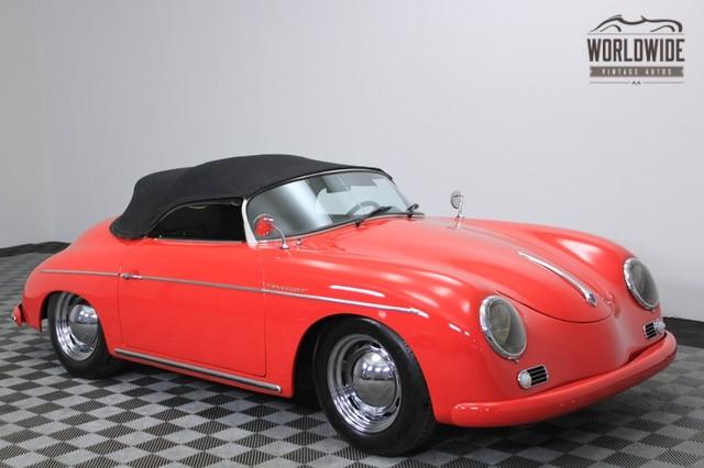 1956 Porsche 356 Speedster Inermeccanica Replica for Sale