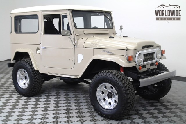 Toyota Fj40 For Sale >> 1965 Toyota Land Cruiser Fj40 For Sale