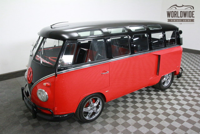Bus volkswagon 1966 vin 236022705 worldwide for 1966 21 window vw bus