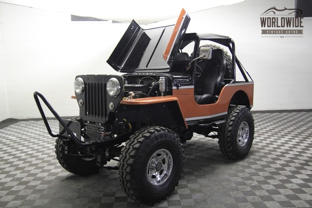 1955 Willys Jeep Cj3b Pictures To Pin On Pinterest Pinsdaddy