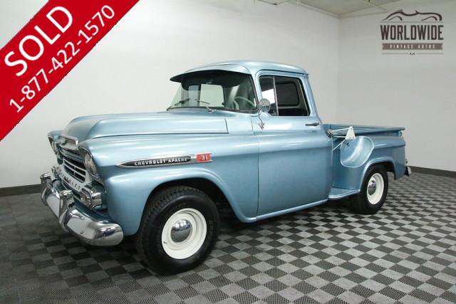 1959 Chevy Apache 3100 For Sale