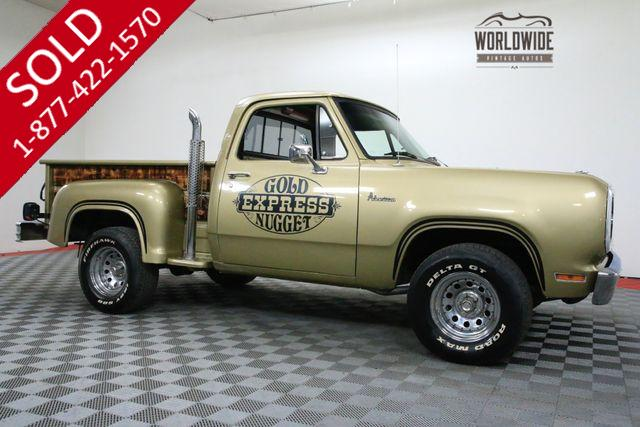 Lil Gold Nugget Dodge 1979 Vin D13ae9s158856