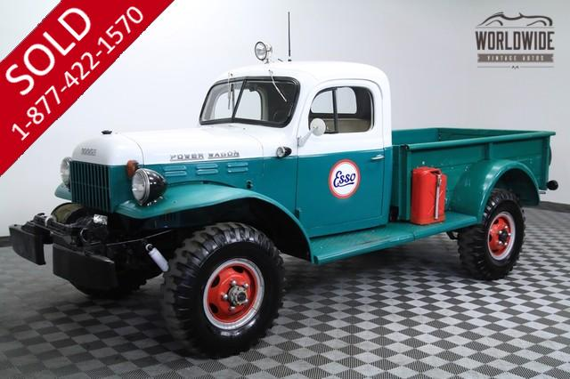 1956 DODGE POWER WAGON RESTORED COLLECTOR QUALITY 4X4