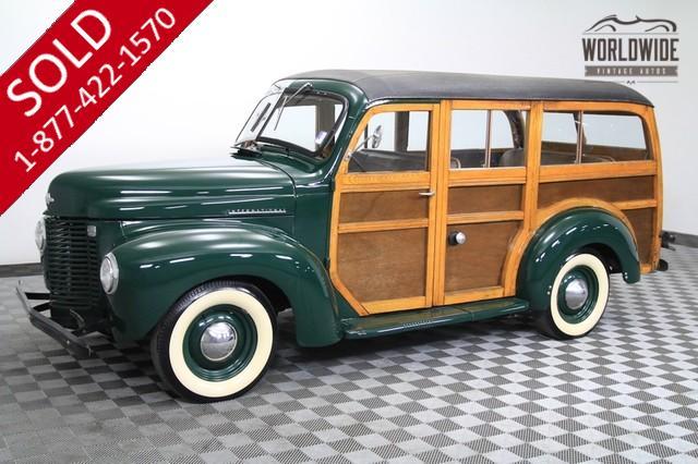1946 International K1 Woody Wagon for Sale