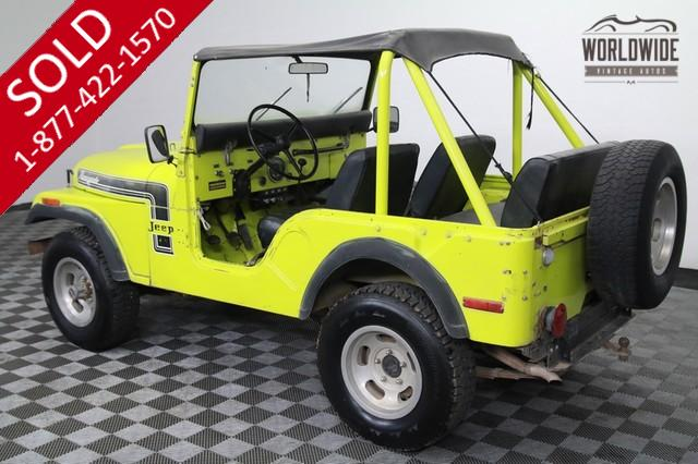 1974 Jeep CJ5 Renegade V8 Very Rare for Sale