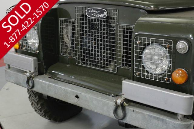 SERIES | LAND ROVER | 1972 | VIN # 34802000h | Worldwide Vintage Autos