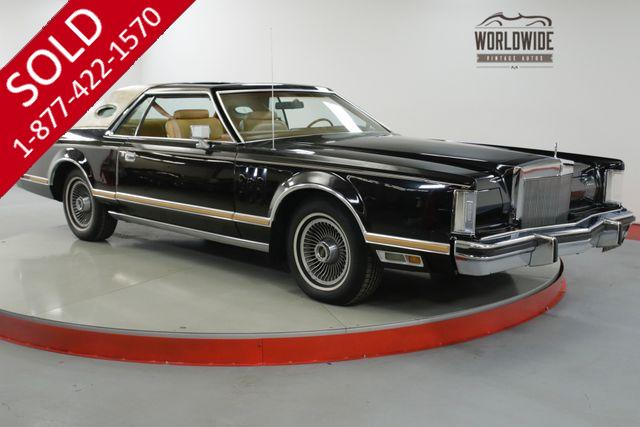 CONTINENTAL MARK V | LINCOLN | 1978 | VIN # 8y89a925634