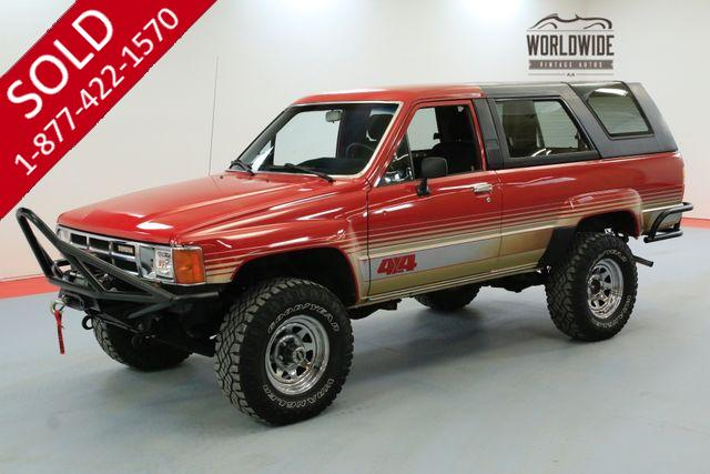 1986 TOYOTA 4RUNNER VINTAGE SUV CONVERTIBLE 4X4 RARE