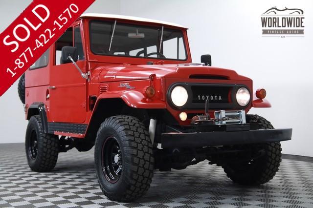 FJ40 | Toyota | 1967 | VIN # fj4042674 | Worldwide Vintage Autos