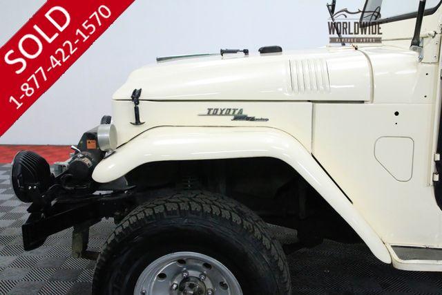 LAND CRUISER | TOYOTA | 1967 | VIN # fj4043883 | Worldwide Vintage Autos