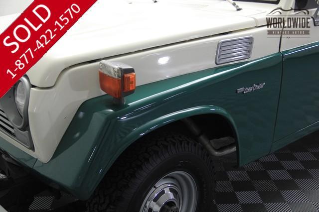 Land Cruiser | Toyota | 1975 | VIN # FJ5553906 | Worldwide Vintage Autos