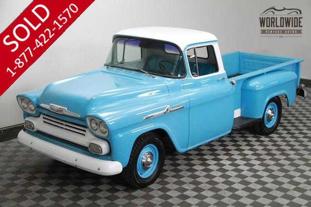 1958 Chevy Apache for Sale