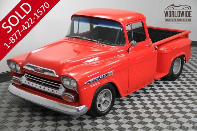 1958 Chevy Apache Hotrod for Sale