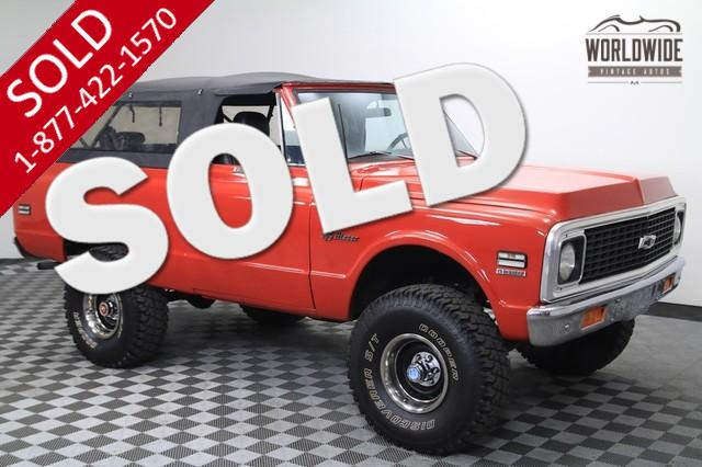 1972 Chevy Blazer for Sale