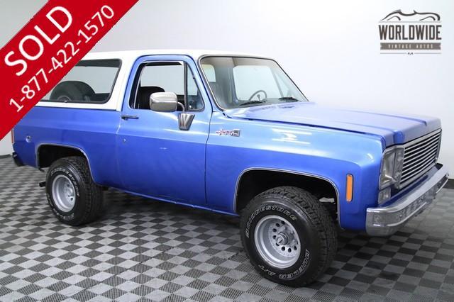 1976 Chevrolet Blazer for Sale