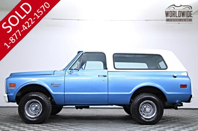 1970 Chevy Blazer 4x4 for Sale