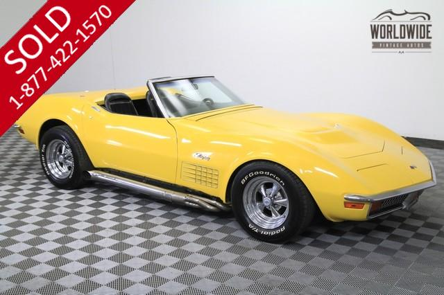 1972 Chevy Corvette for Sale