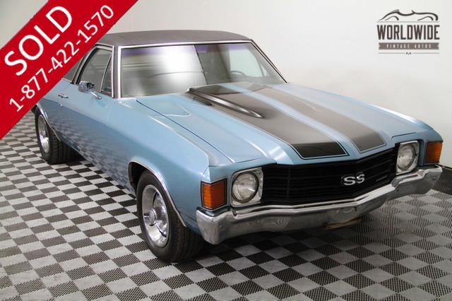 1972 Chevy El Camino for Sale