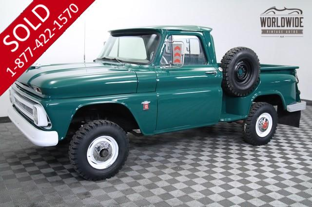 1964 Chevrolet K10 V8 4x4 One Owner for Sale