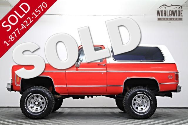 1976 Chevy K5 Blazer for Sale