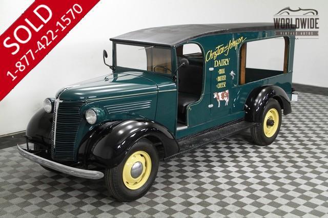 Vintage Milk Truck for Sale
