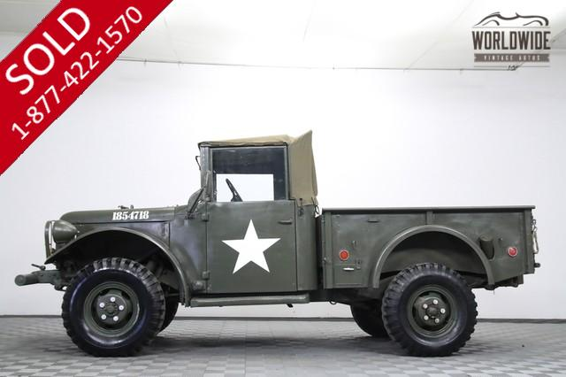 1951 Dodge M37 Army Truck for Sale