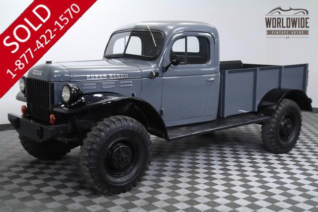 1948 Dodge Power Wagon WDX for Sale