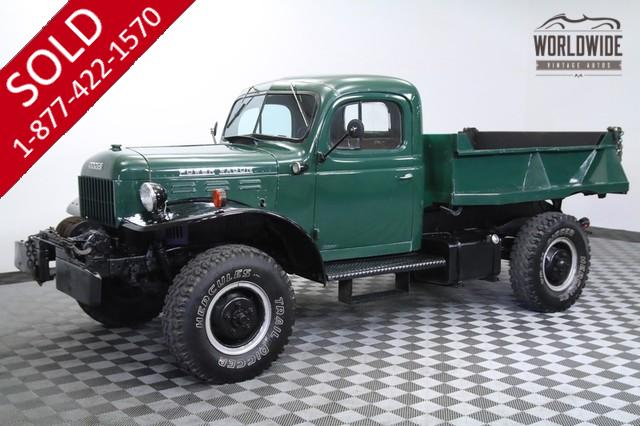 1947 Rare Dodge Power Wagon for Sale
